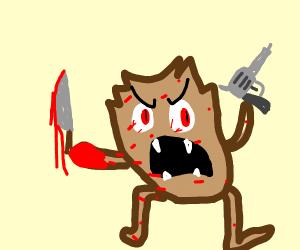Murderous Tazmanian Devil