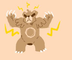 Electric Type Bear Pokemon
