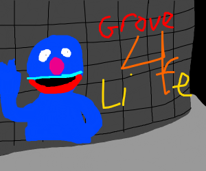 Grove 4 lyfe graffiti