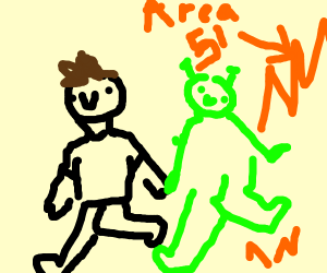 Boi saved alien from area 51
