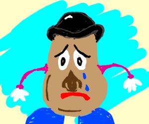 Sad Potato Head