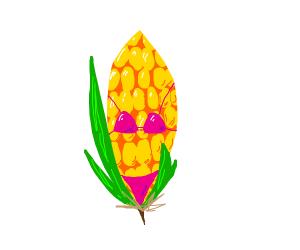 corn in a bikini