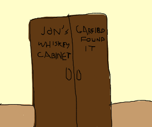 Jon, I found the whiskey cabinet.