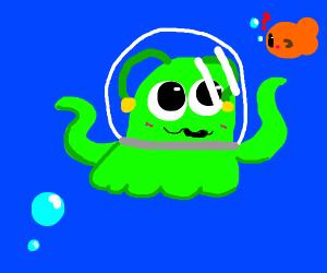 Sea alien