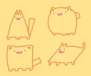 Kitty shapes