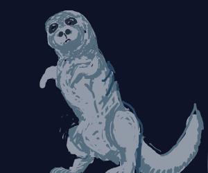 seal-dinosaur mix