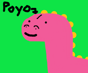 Poyo the cute dino