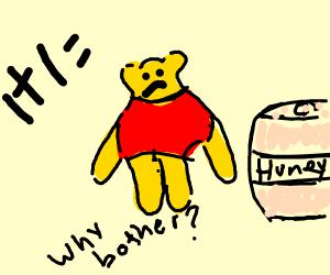 Winnie the Pooh doesn't like Math