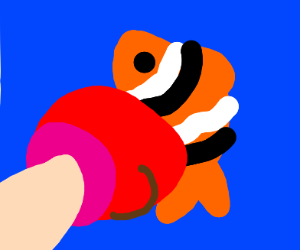 punching a fish