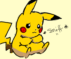 Pikachu needs a hug