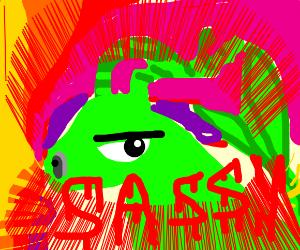 sassy dragon breathing fire