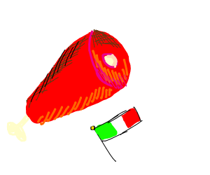 Jamón (Italian flag)