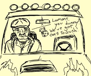 Fred Sanford gets a Monster Truck