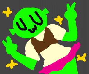 Kawaii Shrek-Chan