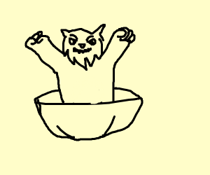Werewolf in a Bowl