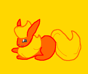 Flareon is a good boi