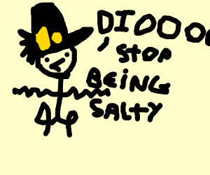 jotaro tells dio to stop being salty