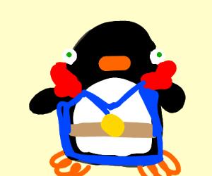 Benedict Cumberbatch is a penguin
