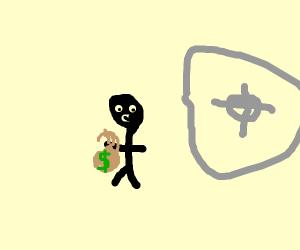 mark hamill robs a bank