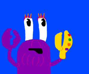 mr krabs is thanos