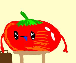 dapper tomato man