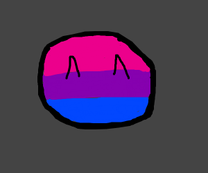 happy bisexual