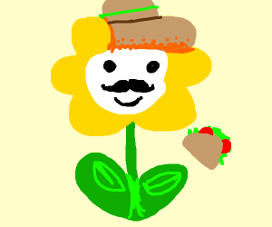 mexican flowey