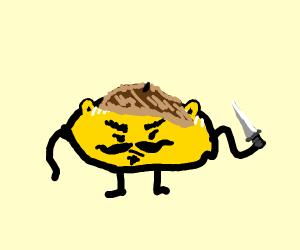 An Evil Lemon Gremlin With a Knife