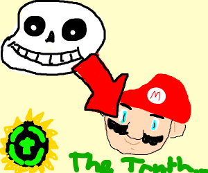 Game Theory was wrong! Sans is actually Mario