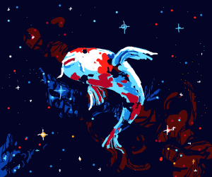 space coy fish