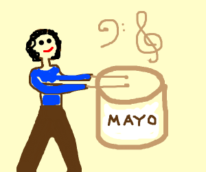 Mayonaise is an instrument to Patrick