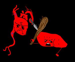 Heart vs Liver