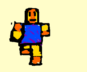 A roblox man