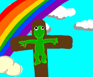 kermit the frog died for our sins