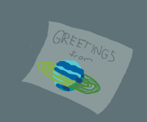 Postcard from Saturn