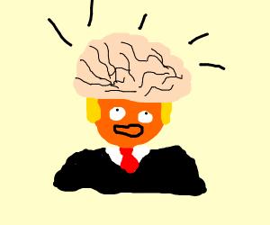 trump going big brain time