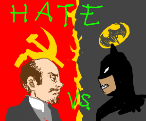 CommunistMan vs Batman