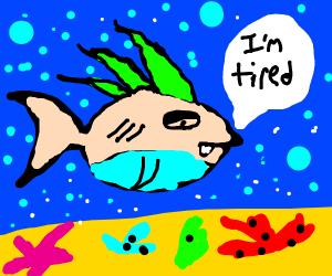 Sleepy Piranha