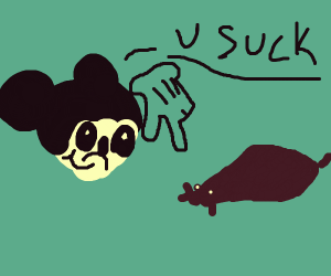 mickey mouse humiliating regular mice