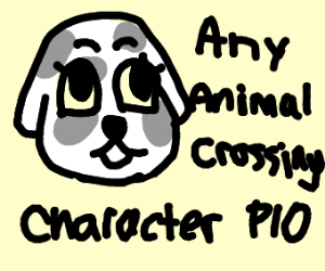 Any animal crossing character PIO