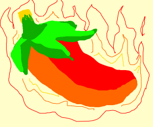 Crazy hot (Spicy) Peper
