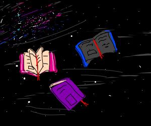 books in spaaaaace
