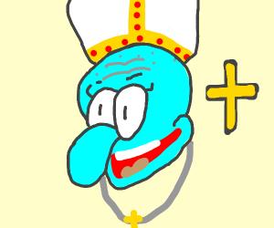 pope Squidward