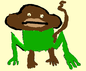 Monkey and frog fusion