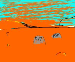 graveyard on mars