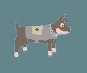 The dog from valiant hearts