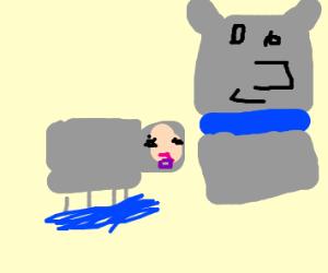 Sven and water sheep
