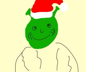 Shrek is the grinch