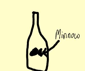 Minnow in a Bottle