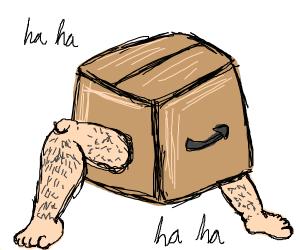 haha its a box
